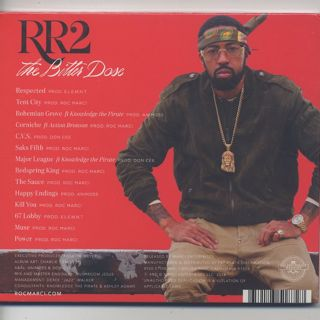 Roc Marciano / RR2 - The Bitter Dose (CD) back