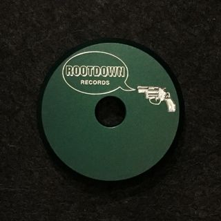 Root Down Records x Union Products 7inch Adapter (Green) back