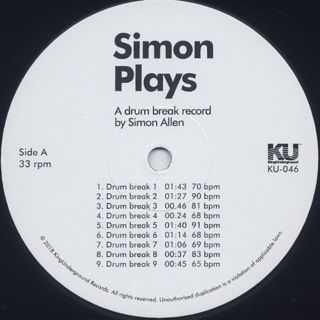 Simon Allen / Simon Plays label