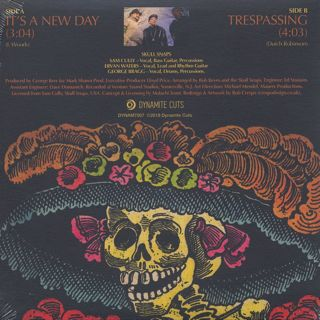 Skull Snaps / It's A New Day c/w Tresspassing back