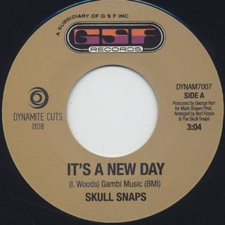 Skull Snaps / It's A New Day c/w Tresspassing label