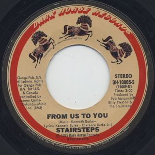 Stairsteps / From Us To You c/w Time