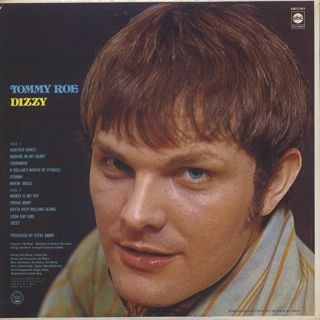 Tommy Roe / Dizzy back