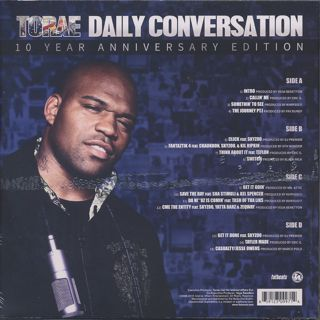 Torae / Daily Conversation - 10 Year Anniversary Edition back