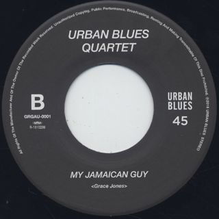 Urban Blues Quartet / Touh Me Take Me label