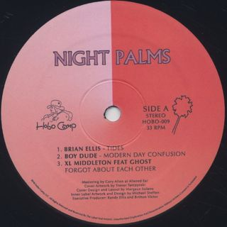 V.A. / Night Palms label
