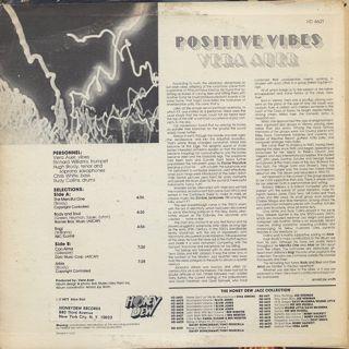 Vera Auer Quintet / Positive Vibes back