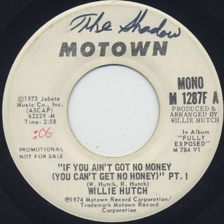 Willie Hutch / If You Ain't Got No Money (You Can't Get No Honey)