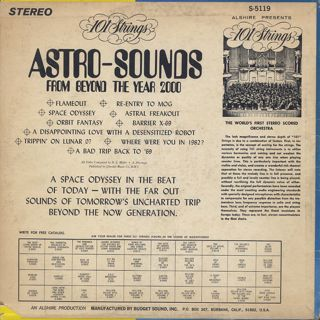 101 Strings / Astro-Sounds From Beyond The Year 2000 back