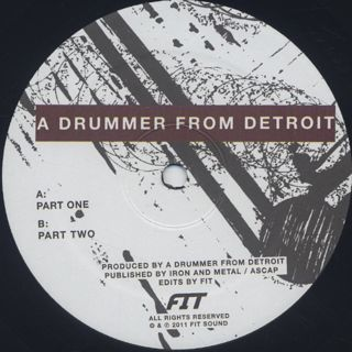 A Drummer From Detroit / Drums #1