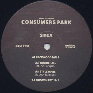Chuck Strangers / Consumers Park label