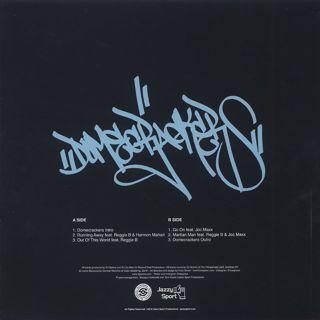 DJ Spinna / Domecrackers EP back