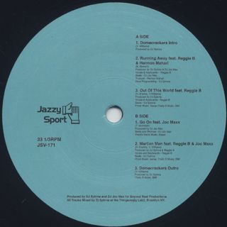 DJ Spinna / Domecrackers EP label