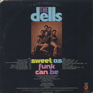 Dells / Sweet As Funk Can Be back