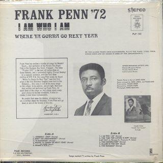 Frank Penn / Frank Penn '72 back