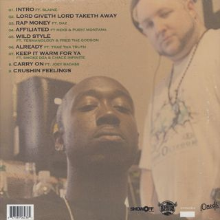 Freddie Gibbs & Statik Selektah / Lord Giveth, Lord Taketh Away back
