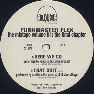 Funkmaster Flex / 60 Minutes Of Funk Vol. III - The Final Chapter back