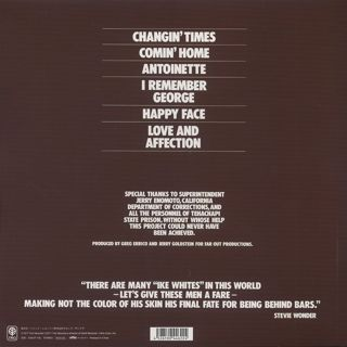 Ike White / Changin' Time back