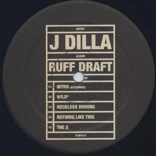 J Dilla / Ruff Draft (Dilla's Mix)(2LP) label