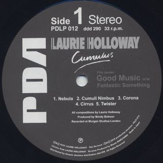 Laurie Holloway / Cumulus label