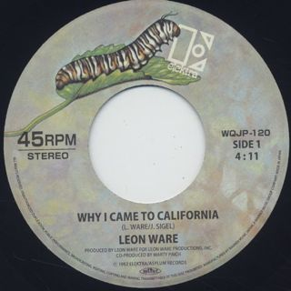 Leon Ware / Why I Came To California back