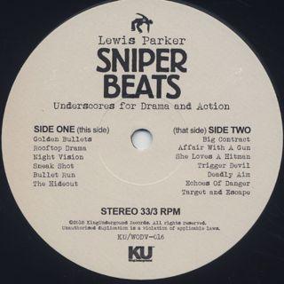 Lewis Parker / Sniper Beats label