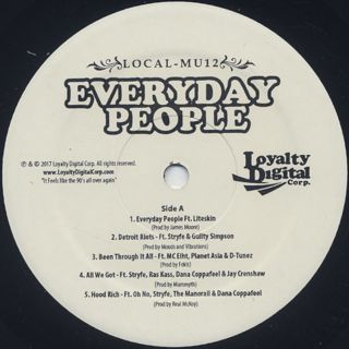 Local-Mu12 / Everyday People label