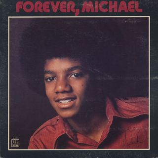 Michael Jackson / Forever, Michael front