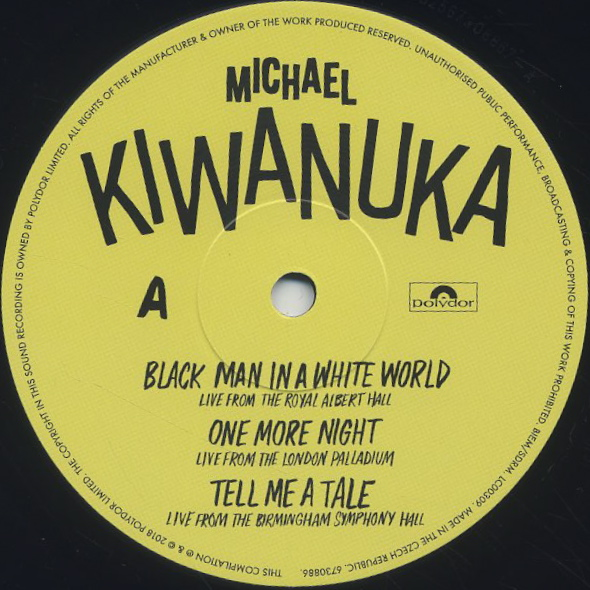 Michael Kiwanuka / Out Loud! label