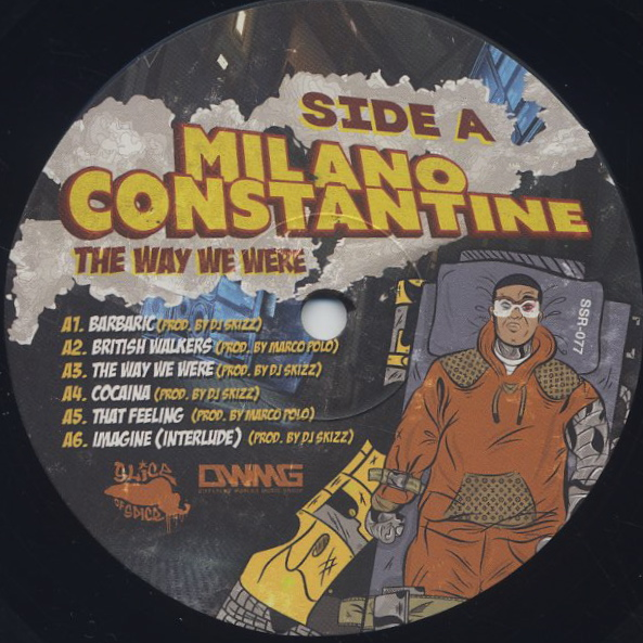 Milano Constantine / The Way We Were (LP) label