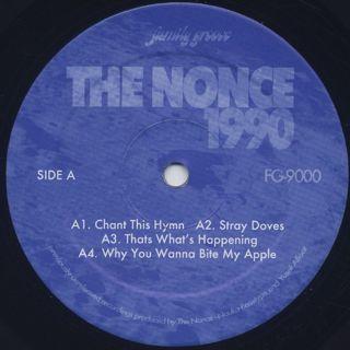 Nonce / 1990 (2LP) label