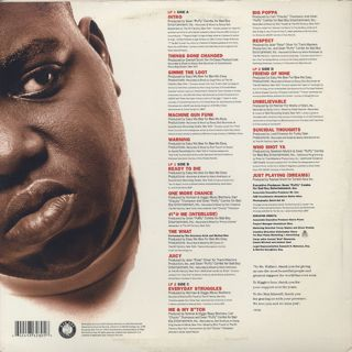 Notorious B.I.G. / Ready To Die (The Remaster LP) back
