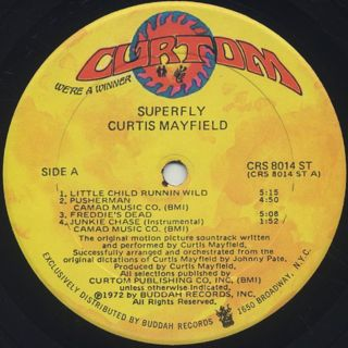 O.S.T.(Curtis Mayfield) / Super Fly label