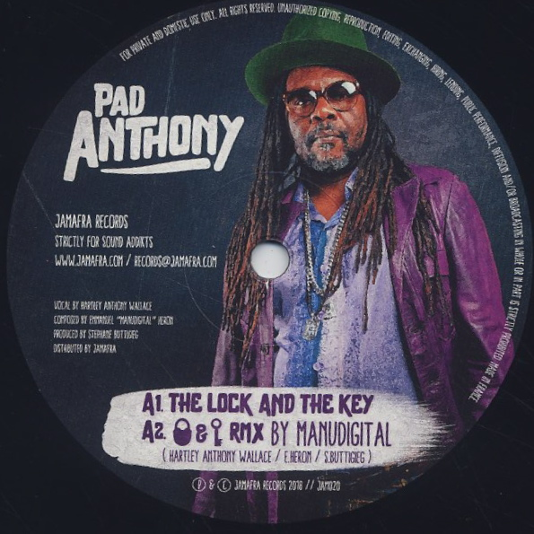 Pad Anthony / The Lock And The Key label