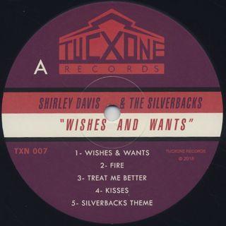 Shirley Davis & The Silverbacks / Wishes & Wants label