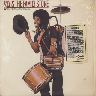 Sly and The Family Stone / Heard Ya Missed Me, Well I'm Back