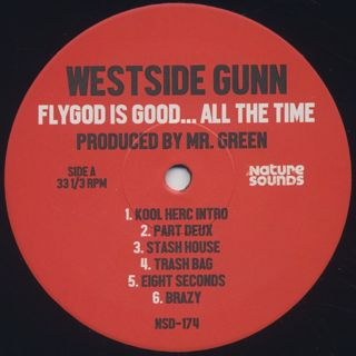 Westside Gunn & Green / Flygod Is Good... All The Time label