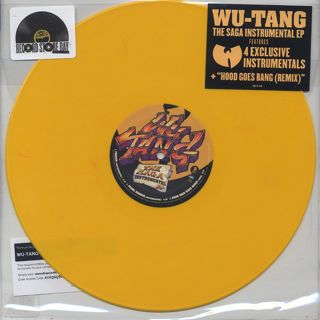 Wu-Tang Clan / The Saga Instrumental EP front