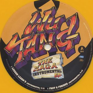 Wu-Tang Clan / The Saga Instrumental EP back