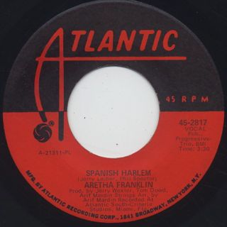 Aretha Franklin / Spanish Harlem (7