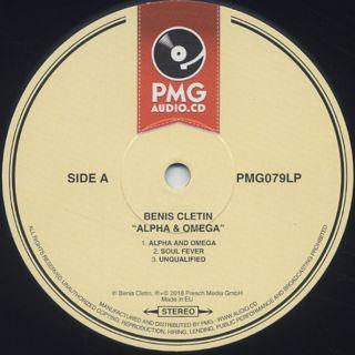 Benis Cletin / Alpha & Omega label