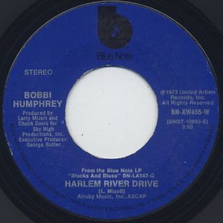 Bobbi Humphrey / Harlem River Drive c/w Black And White front