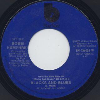 Bobbi Humphrey / Harlem River Drive c/w Black And White back