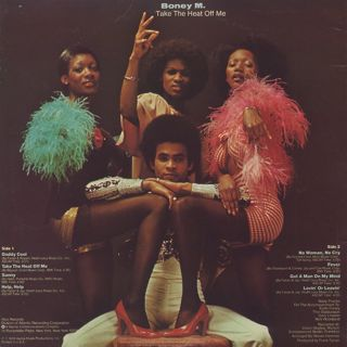 Boney M / Take The Heat Off Me back