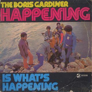 Boris Gardiner / Is What's Happening