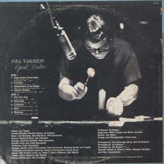Cal Tjader / Agua Dulce back