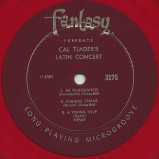 Cal Tjader / Cal Tjader's Latin Concert label
