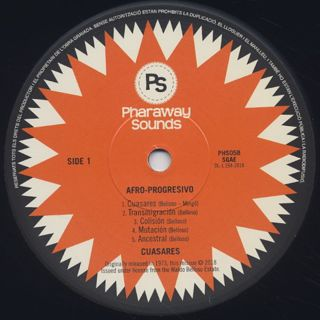Cuasares / Afro-Progresivo label