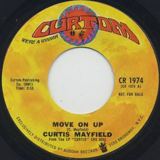 Curtis Mayfield / Move On Up (7