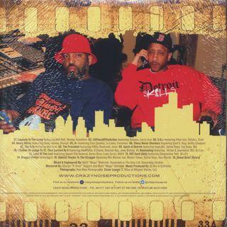 DJ Dez & DJ Butter / A Piece Of The Action (2LP) back